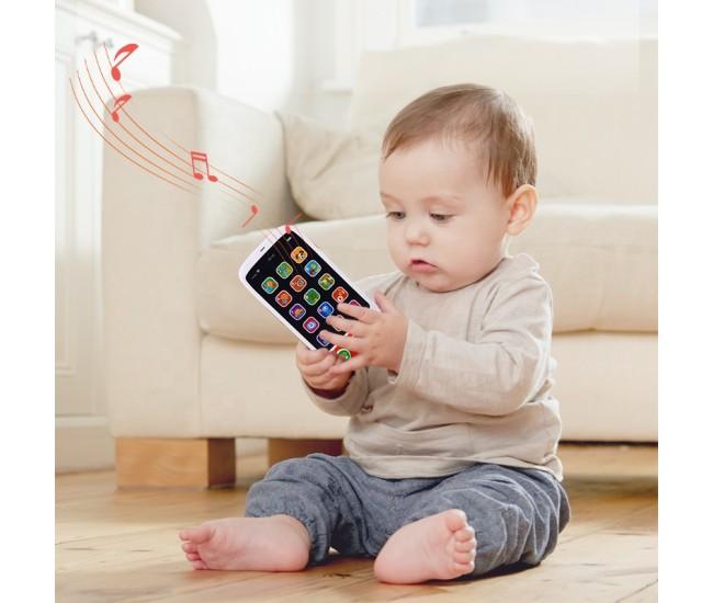 Telefon de jucarie cu touch, sunete si lumini - HE8001