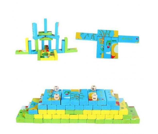 Joc Interactiv Jenga Puzzle, 3 Imagini - JG213