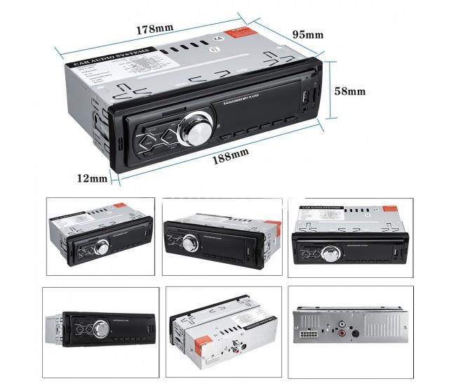 Radio de masina ,USB, SD, ecran LED rosu - 1788E