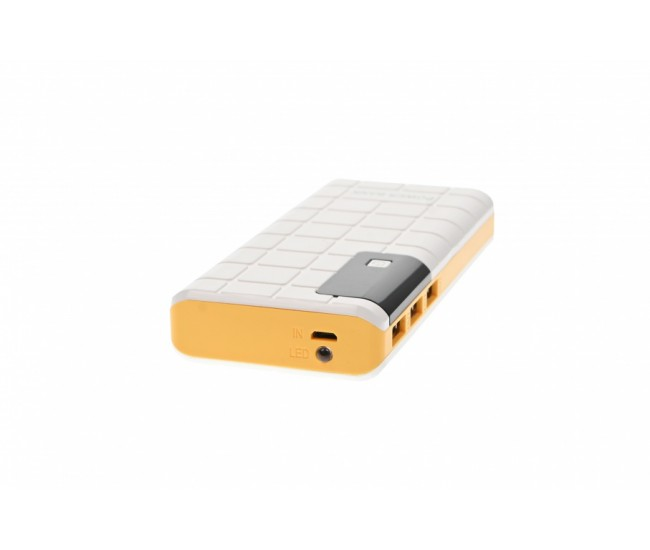 SMART POWER BANK 5000MAH CU LANTERNA - PB5000YELLOW