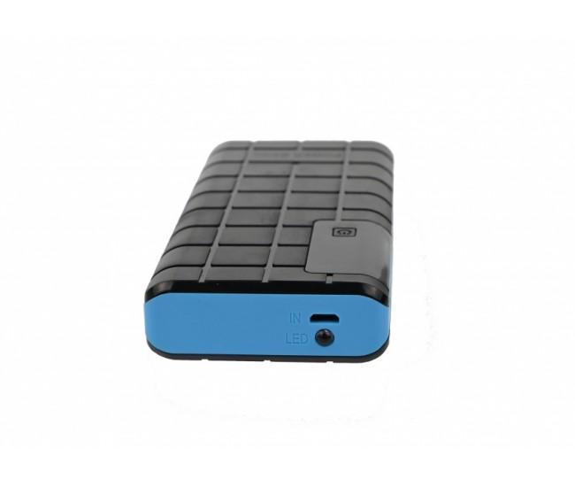 Incarcator portabil, POWER BANK 5000MAH cu 3 x USB si lanterna - PB5000