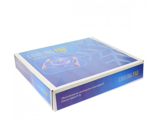 Cooler laptop, 1 ventilator 16 cm cu LED, USB - NC10COOLER