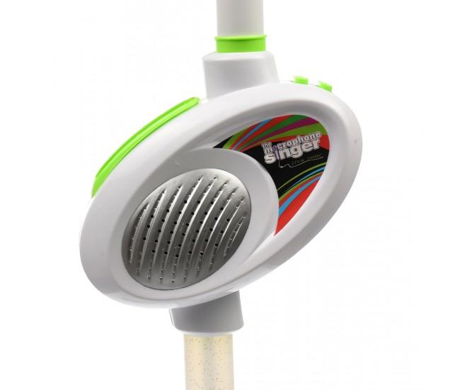 Microfon de jucarie pentru copii, cu amplificator voce si lumini - 6262