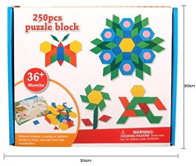 Jucarie de creatie, desene mozaic, cu modele, multicolor - 3315056