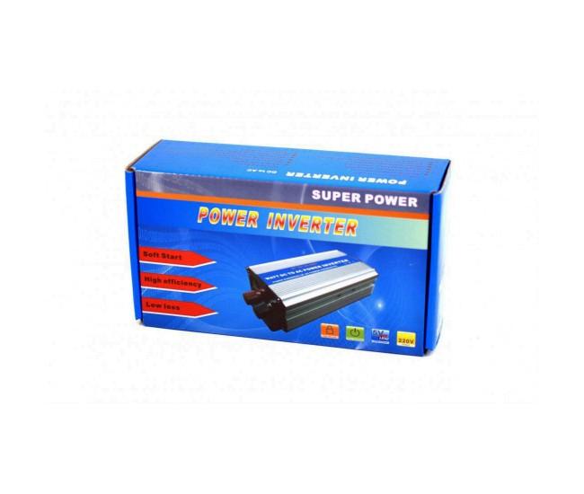 Invertor auto 300W Chaomin 24V - 220V cu iesire USB