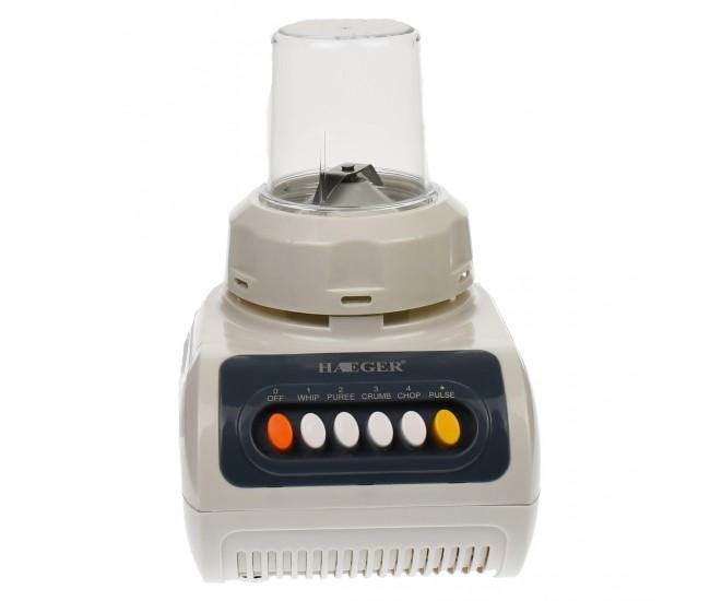 Blender Haeger, 4 viteze + impuls, putere 350W, volum 1.5 L, alb - HG2821
