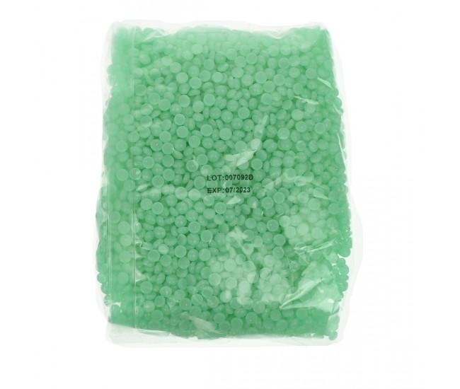 Ceara de epilare tip granule, LilaCare, 500 g, Verde - 226703