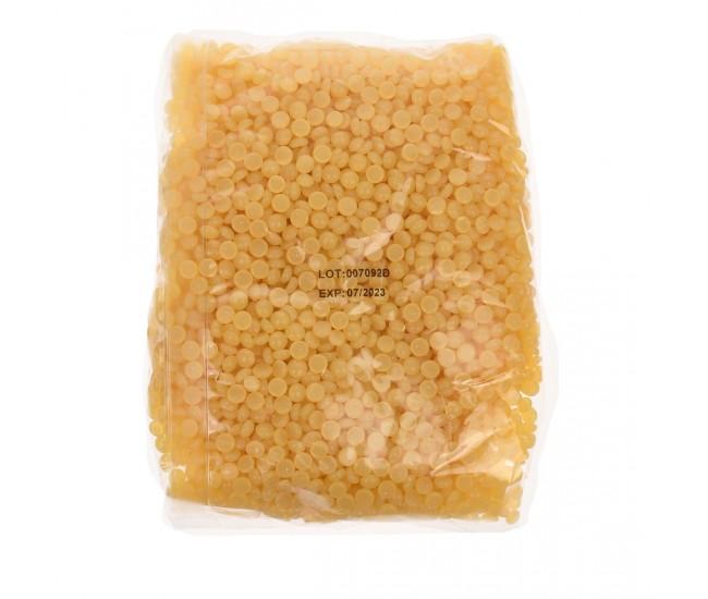 Ceara de epilare tip granule, LilaCare, 500 g, miere, galbena - 226701