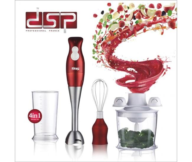 Set Blender electric multifunctional, 200W, silentios, DSP Professional - KM1004