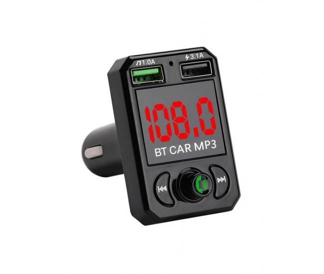 Modulator Wireless Auto, FM, Bluetooth, USB, SD card - CARB6