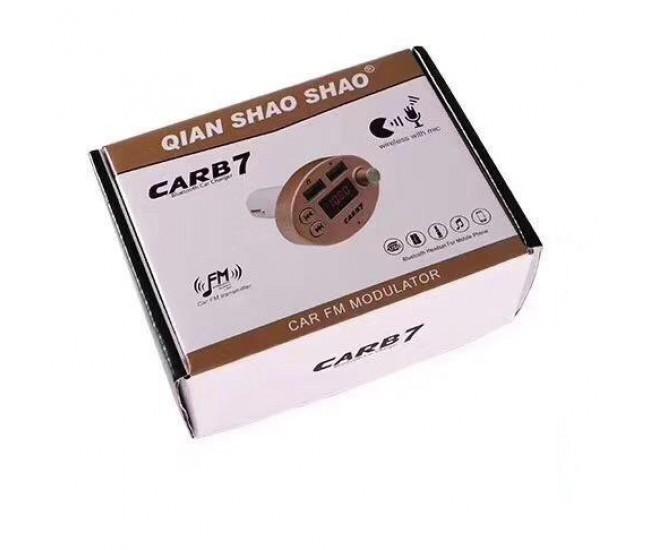 Modulator Wireless Auto, FM, Bluetooth, USB, SD card - CARB7