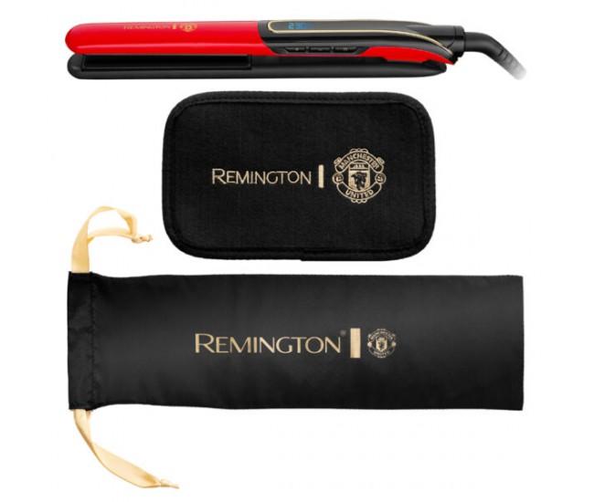 Placa de indreptat parul Remington Sleek & Curl Expert Manchester United Edition S6755 - S6755