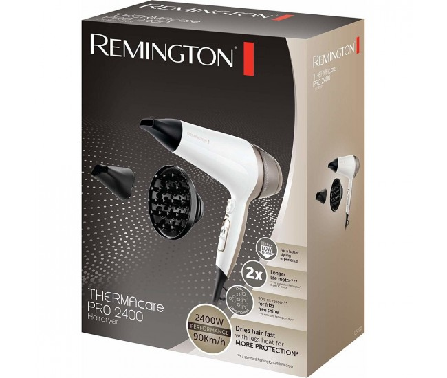 Uscator de par Remington Thermacare Pro 2400 D5720 2400 W  - D5720