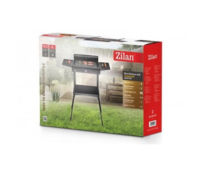 Gratar electric cu picior ZİLAN ZLN-3789 ,2400 W, termostat reglabil - ZLN3789