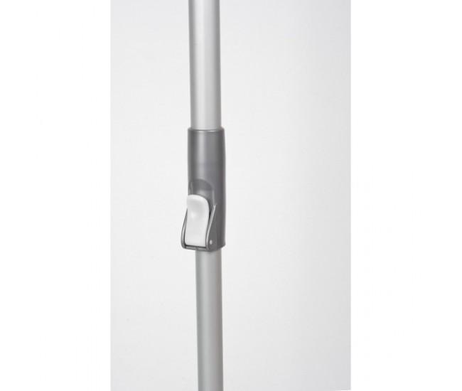 Galeata magic mop LISA ZLN-1389, Mop rotativ 360 grade, Capacitate galeata 12L,Roz - ZLN1389