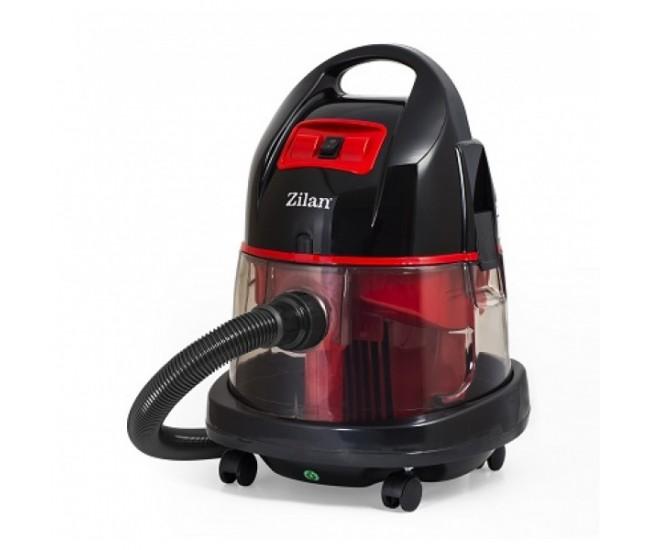 Aspirator ZILAN ZLN-8945R cu filtrare prin apa si uscata,1400W, Rosu - ZLN8945R
