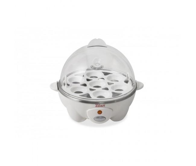 Fierbator de oua ZİLAN ZLN-8075, 360 W, Capacitate 7 oua, Alb - ZLN8075