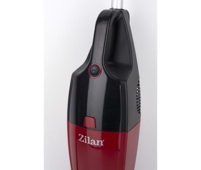 Aspirator vertical ZILAN ZLN-1235R, Putere 800W, Fara sac, Recipient praf 2L, Rosu/Negru - ZLN1235R