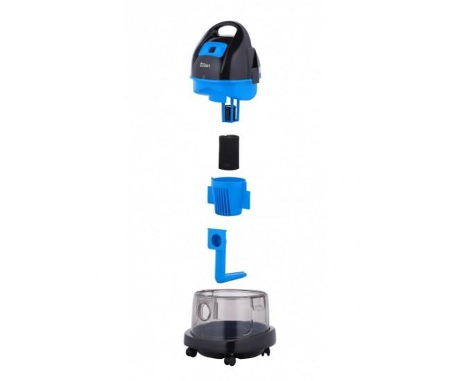 Aspirator ZILAN ZLN-8945 cu filtrare prin apa si uscata,1400W,Albastru - ZLN8945A