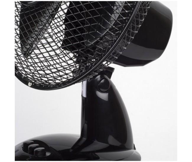 Ventilator de birou Floria ZLN-1211, Diametru 26 cm, Putere 25 W, 2 trepte de viteza, Functie oscilare - ZLN1211