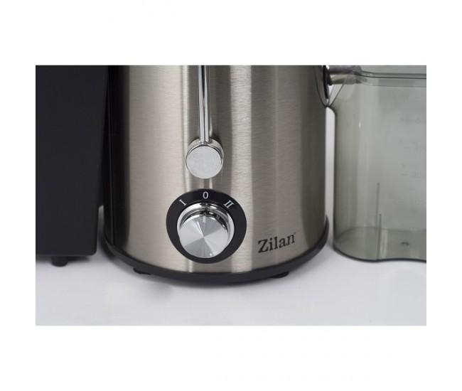Storcator legume fructe ZILAN ZLN-8037, Putere 400W, Pahar gradat colectare suc, Tub de alimentare 65 mm - ZLN8037