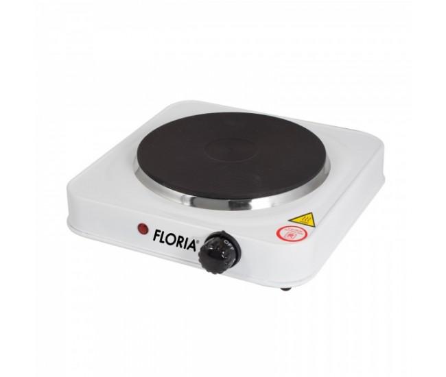 Plita electrica Floria ZLN-2829, 1 ochi, Putere 1500W, Alb - ZLN2829