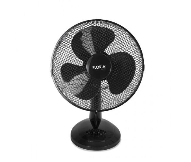 Ventilator de birou Floria ZLN-3383, Diametru 34 cm, Putere 35 W, 3 trepte de viteza, Functie oscilare - ZLN3383
