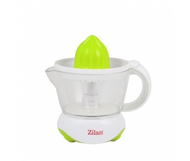 Storcator citrice ZILAN ZLN-7825, Capacitate 0.7L, Cana gradata, Functie reverse, Putere 25W, Alb/Verde - ZLN7825