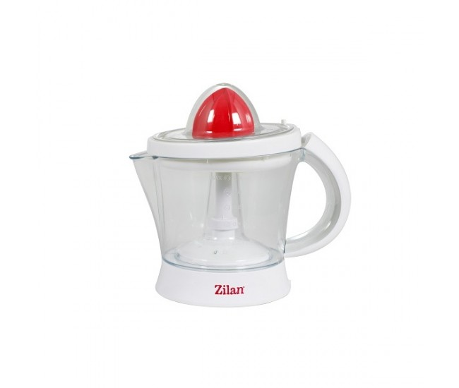 Storcator citrice ZILAN ZLN-7832, Capacitate 1L, Cana gradata, Functie reverse, Putere 40W, Alb/Rosu - ZLN7832