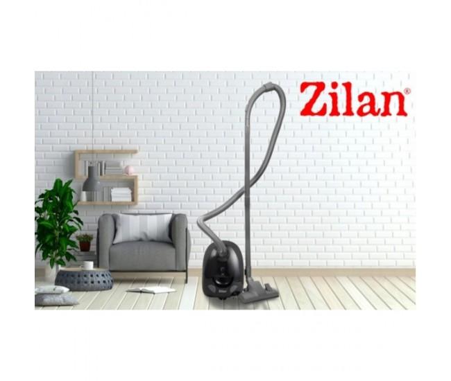 Aspirator cu sac ZILAN ZLN-8471, Capacitate sac textil 2.0 l, Putere 1200 W, Cordon electric retractabil 5 m, Negru - ZLN8471