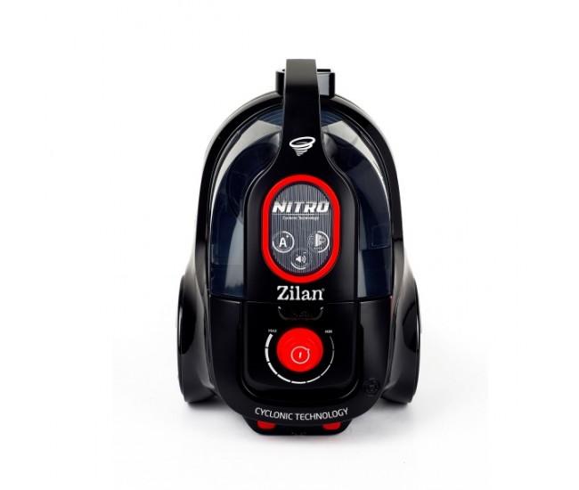 Aspirator fara sac FLORIA ZLN-3451, filtru HEPA 13, filtrare ciclonica, capacitate colectare 2.5L, putere 700W, rosu-negru - ZLN3451