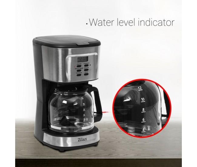 Filtru cafea digital Zilan ZLN-1440, 900 W, 1.5 l, programare si amanare - ZLN1440