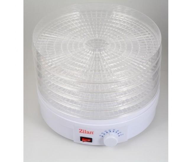 Deshidrator alimente, ZİLAN ZLN-9645, 245W,Alb - ZLN9645