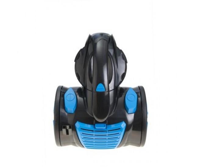 Aspirator fara sac FLORIA ZLN-3468, filtru HEPA 13, filtrare ciclonica, capacitate colectare 1.5L, putere 700W, bleu-negru - ZLN3468