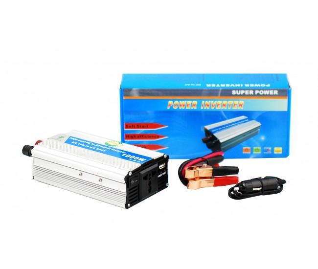 Invertor auto 1000W Chaomin 12V - 220V cu iesire USB
