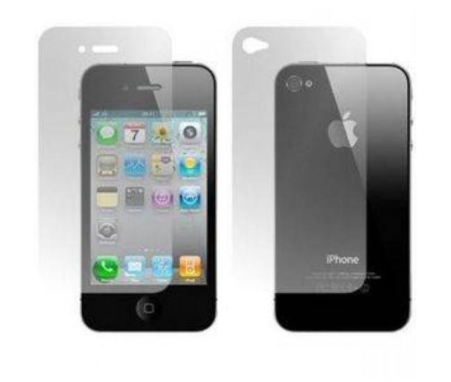 Folie protectie SMART SMT00003 fata spate pentru iPhone 4