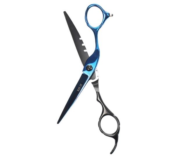 Foarfeca profesionala de tuns BlackCut 5.5 inch, pentru frizerie, coafor, salon - G08955