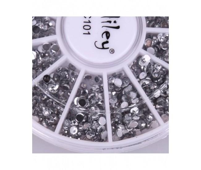 Carusel pentru unghii strasuri Miley C101