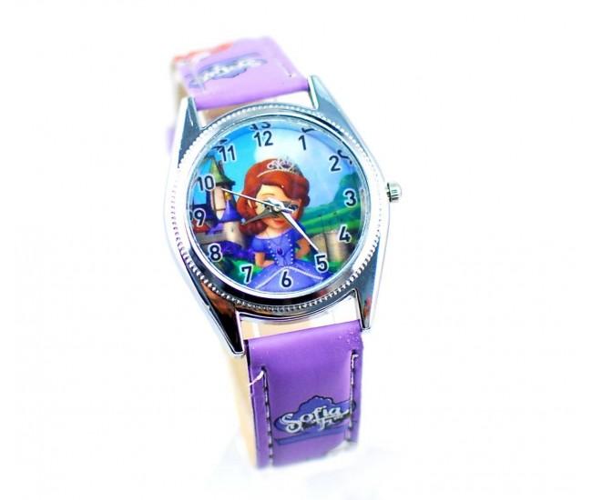 Set ceas pentru copii cu Portofel Sofia / Ceas fetite + Portofel Sofia din desene animate