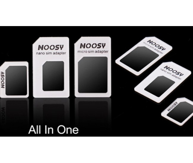 Adaptor Nano Sim, Micro Sim, Standard Sim + Cheita