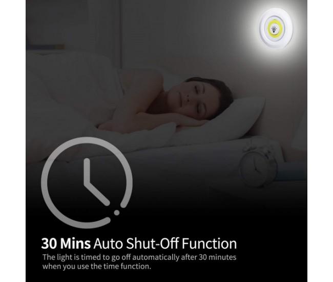 Set 3 spoturi cu lumina led alba, multifunctionale cu telecomanda - 3LEDREMOTE