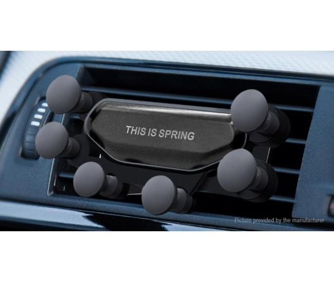 Suport auto universal, gravitational, pentru telefon - SPIDER 6POINT
