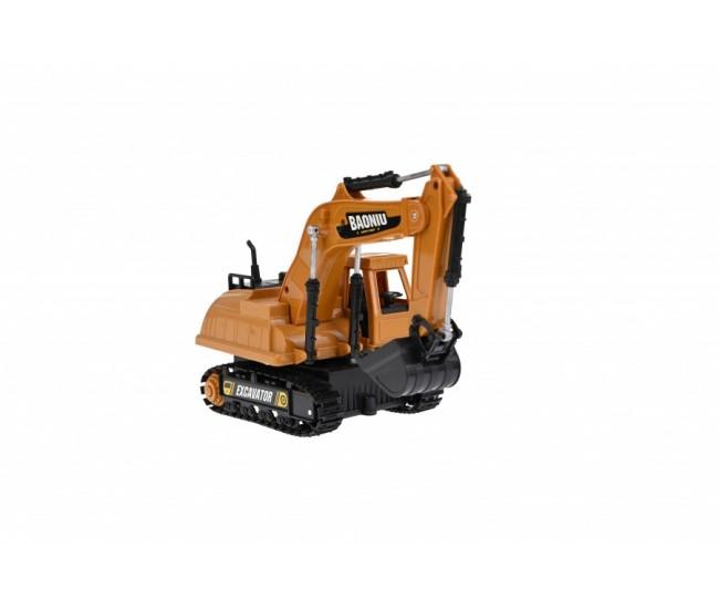 Excavator de jucarie pentru constructii, cu radio comanda - R226