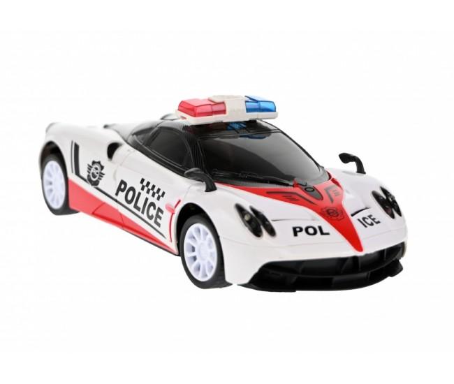 Jucarie Masina Sport de politie cu radiocomanda si lumini - YQ30A