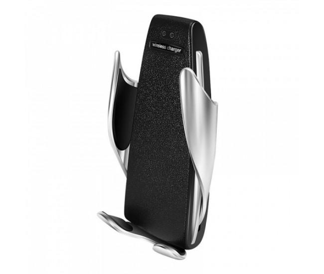 Suport auto incarcator reflection vision wireless si senzor inteligent Smart Sensor, USB, functie Fast Charge - S5