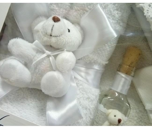 Trusou Botez alb pentru baieti si fetite - set complet pentru biserica TRB503