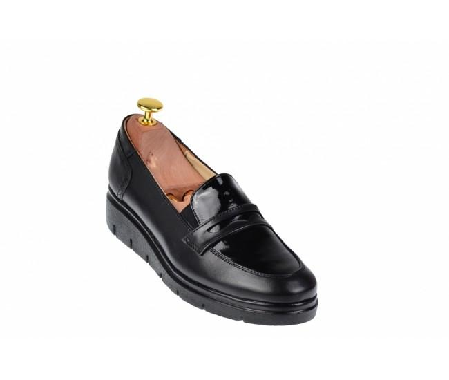 Oferta marimea 36, 38, 40 -  Pantofi dama, casual, din piele naturala, foarte comozi - LP105NBOXLAC