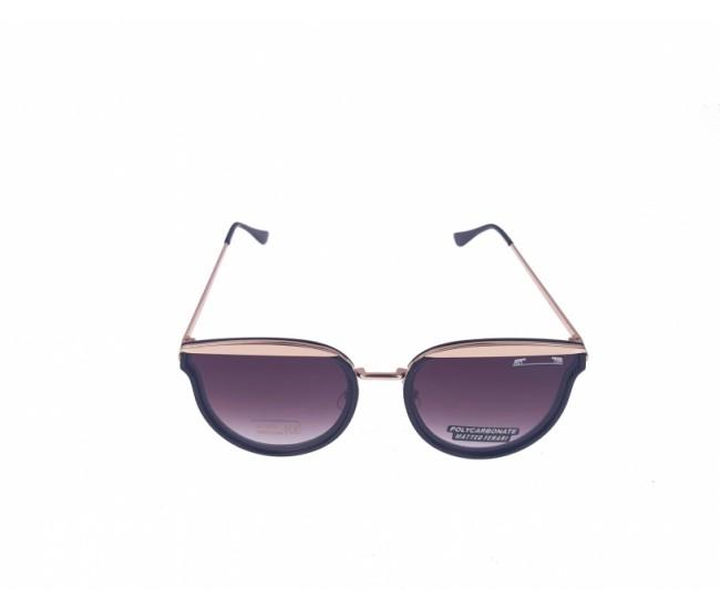 Ochelari de soare dama aurii, UV 400 Matteo Ferari MFJH-018, 60-15-155
