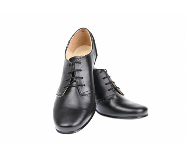 Oferta marimea 37 - Pantofi dama, din piele naturala box - LPALMA