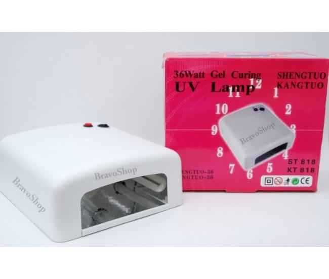 Lampa UV (ultraviolete) pentru uscare unghii cu gel - 36W
